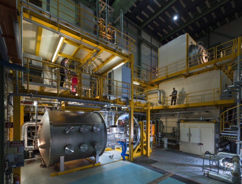 Industriefotografie Werkshalle