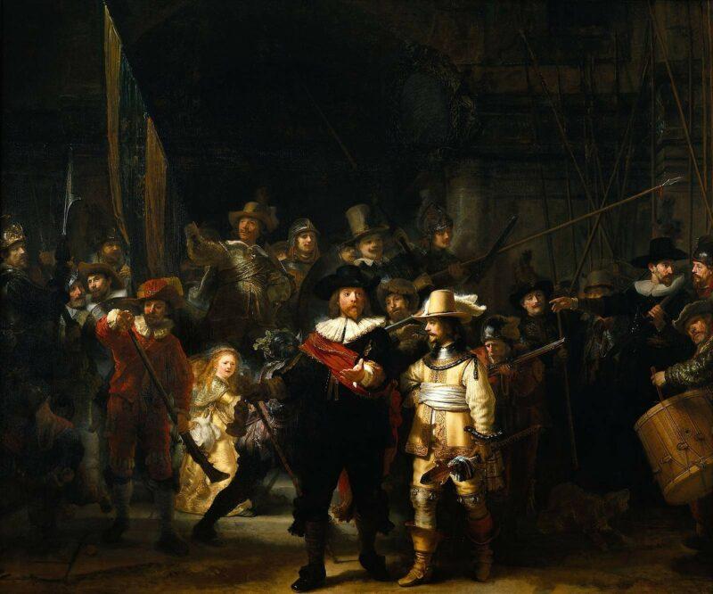 gruppenbild rembrandt