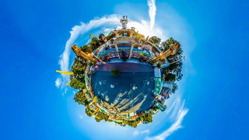 360-Grad-Fotos Little Planet