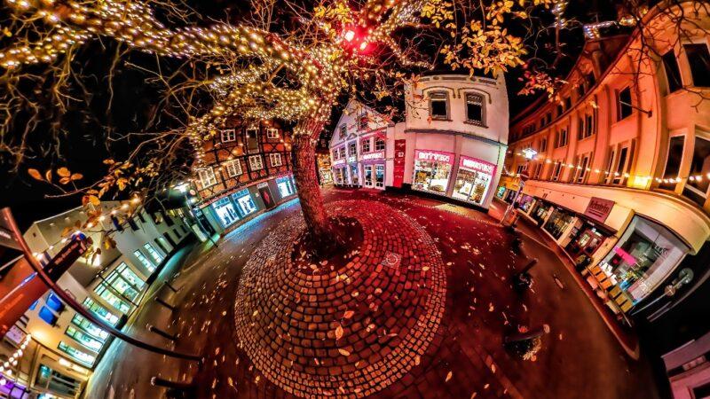 360-Grad-Fotos Nacht