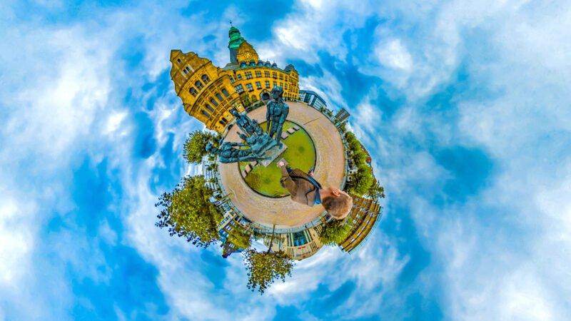 360-Grad-Fotos Tiny Planet