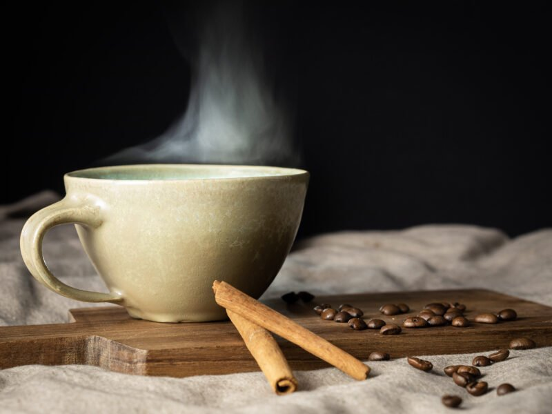 Stillleben fotografieren Kaffeetasse