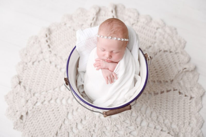 Neugeborenen Foto Schale