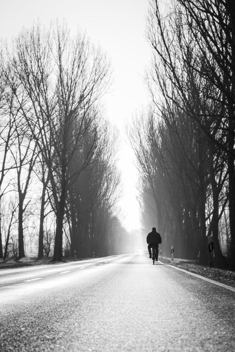 Streetfotografie Fahrrad