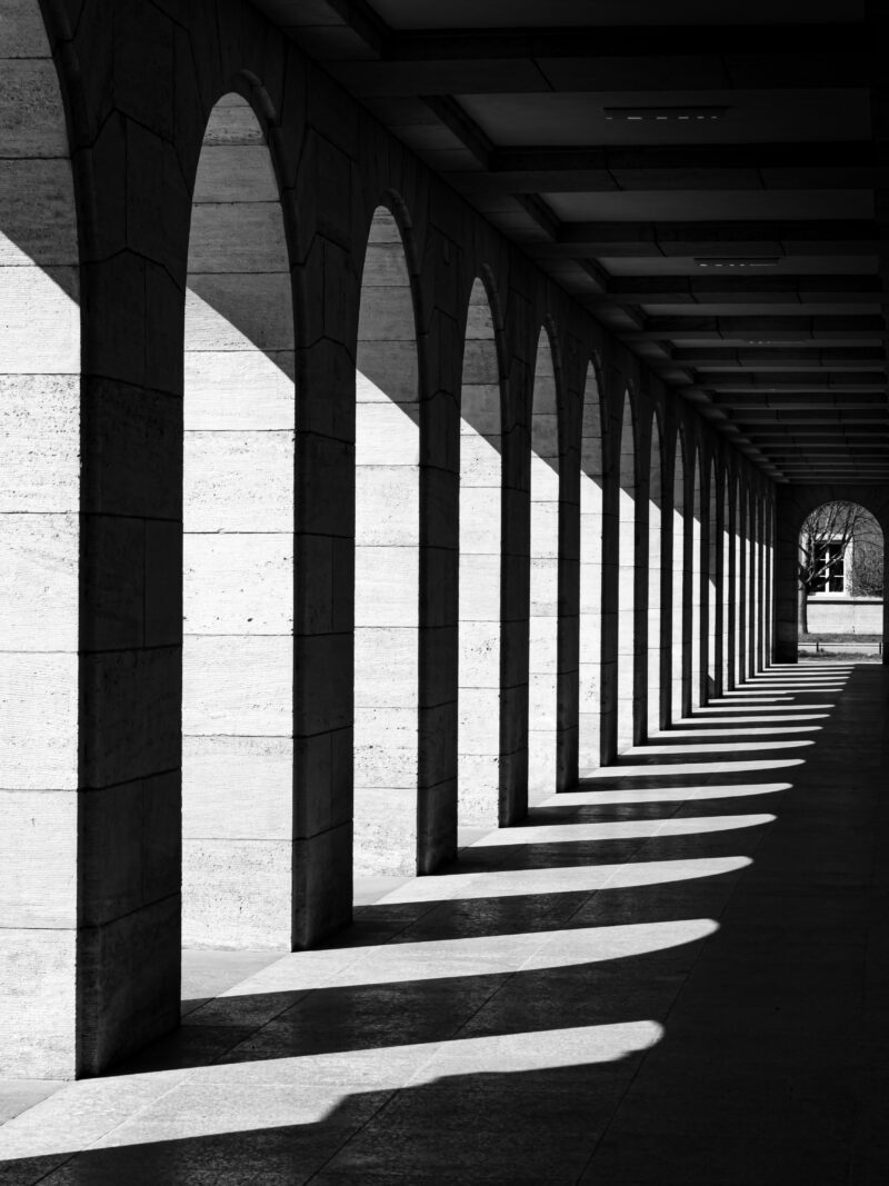 Streetfoto Säulen