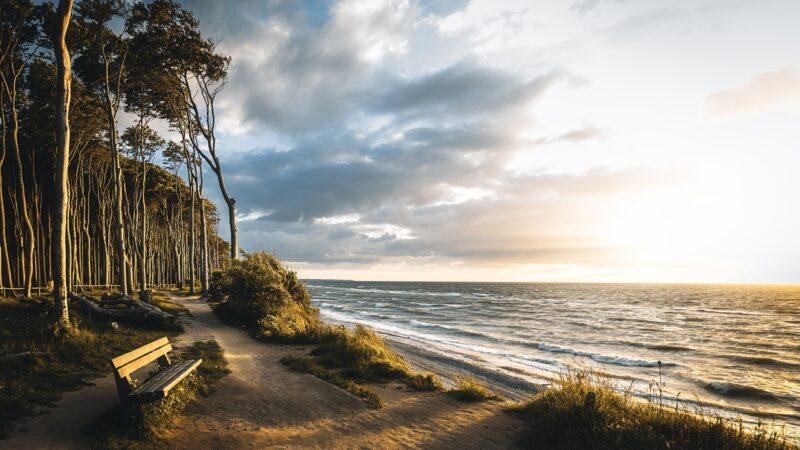 ETTR: Sonnenuntergang an der Ostsee