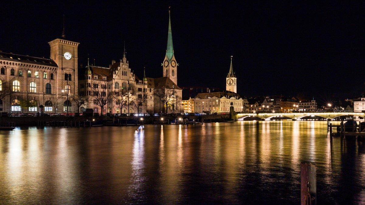Nachtfotografie Zürich