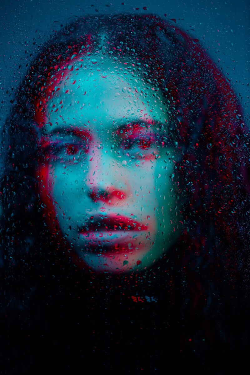 Kreative Fotoideen Portrait Harris Shutter Effect