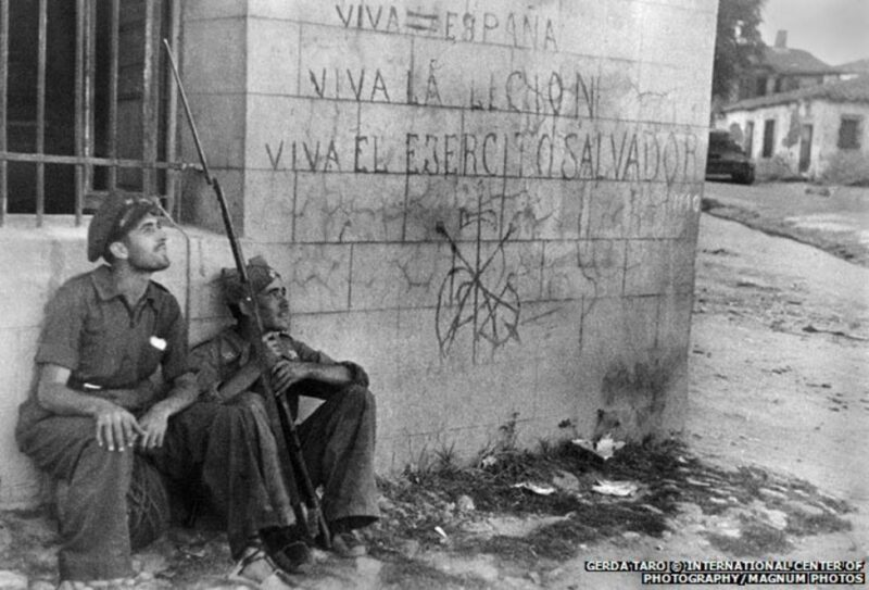 Gerda Taro Kriegsfotografie