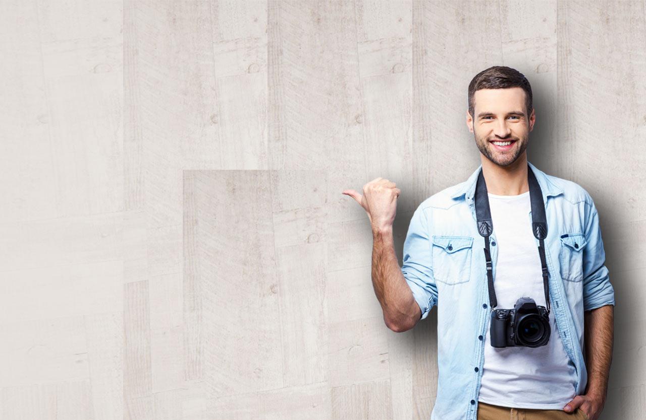 Finde kostenlos die besten Fotografen aus Deiner Region.
