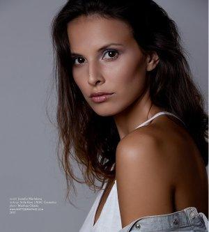 Model Jennifer M