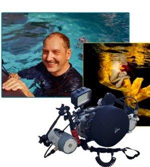 Fotograf Unterwasser Fotoshooting